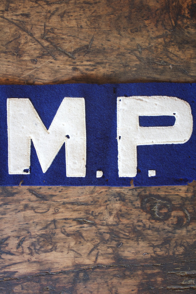 Vintage US Army MP Armband