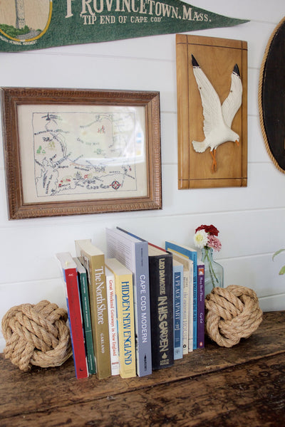 Nautical Seagull Wall Decor - Diamonds & Rust