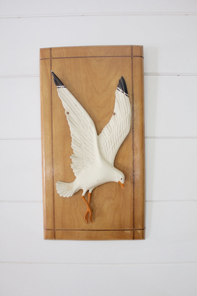 Nautical Seagull Wall Decor