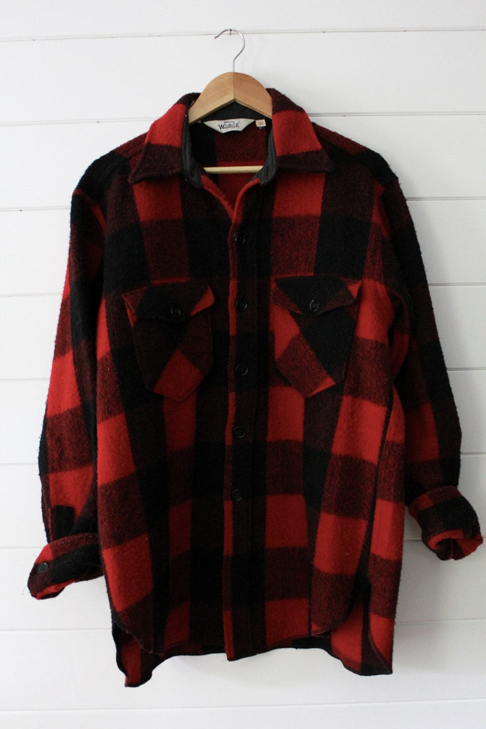 Vintage Woolwich Buffalo Plaid Jacket