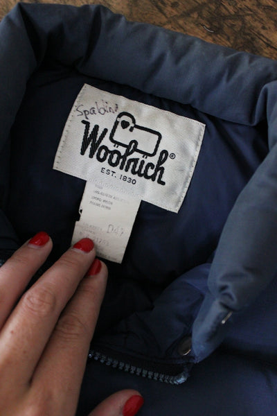 Vintage Woolrich Vest - Diamonds & Rust