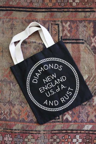Diamonds and Rust New England Tote