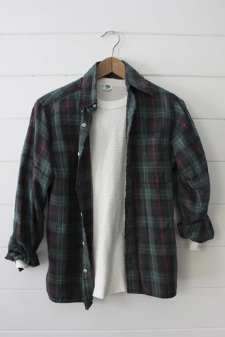 Vintage LL Bean Plaid Shirt
