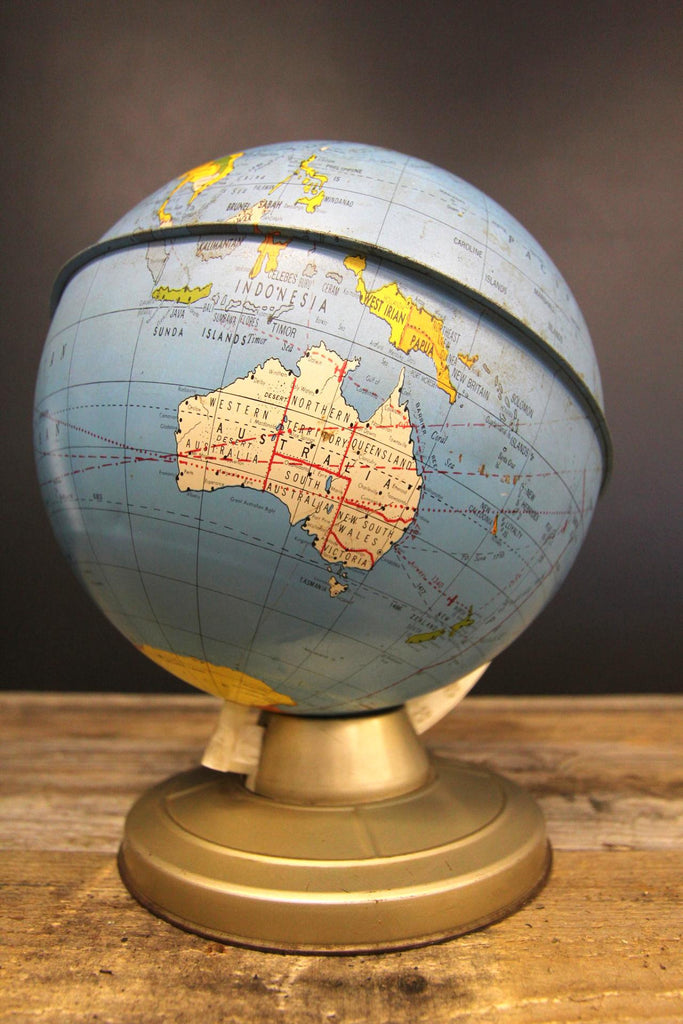The Ohio Art Co Metal Globe on Stand