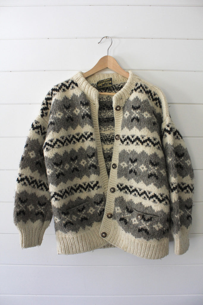 Vintage Cardigan Sweater