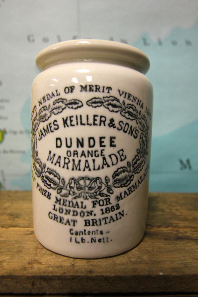 James Keiller & Sons Stoneware Jar