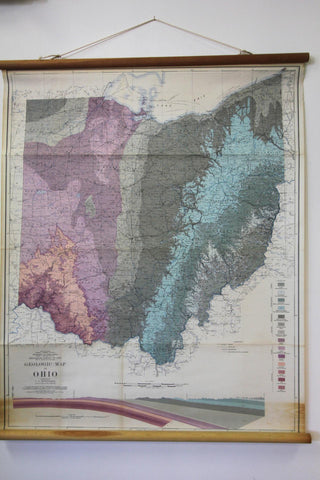 Geologic Map of Ohio 1947