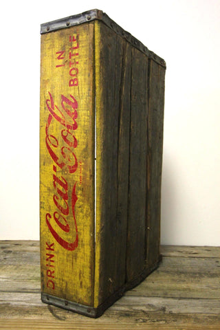 Coca Cola Wood Crate 2