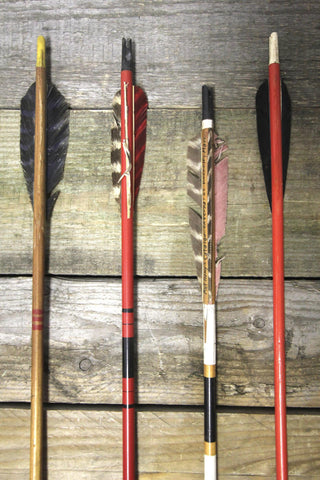 Wooden Arrows Set of 4 #3