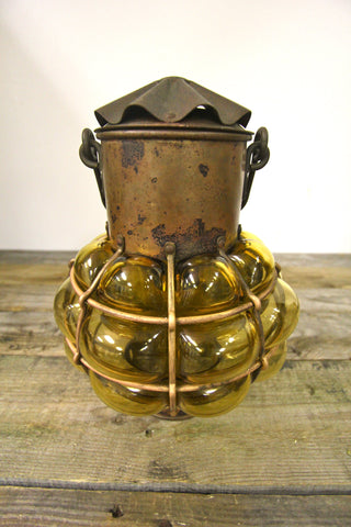 Antique Nulco Copper Wall Fixture
