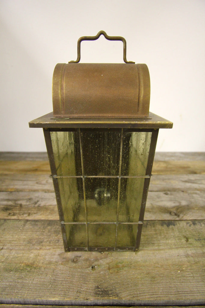 Vintage Moe Lighting Copper Wall Fixture