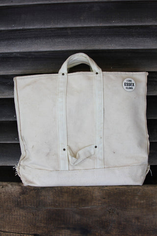 Vintage Heavy Canvas Tote Bag