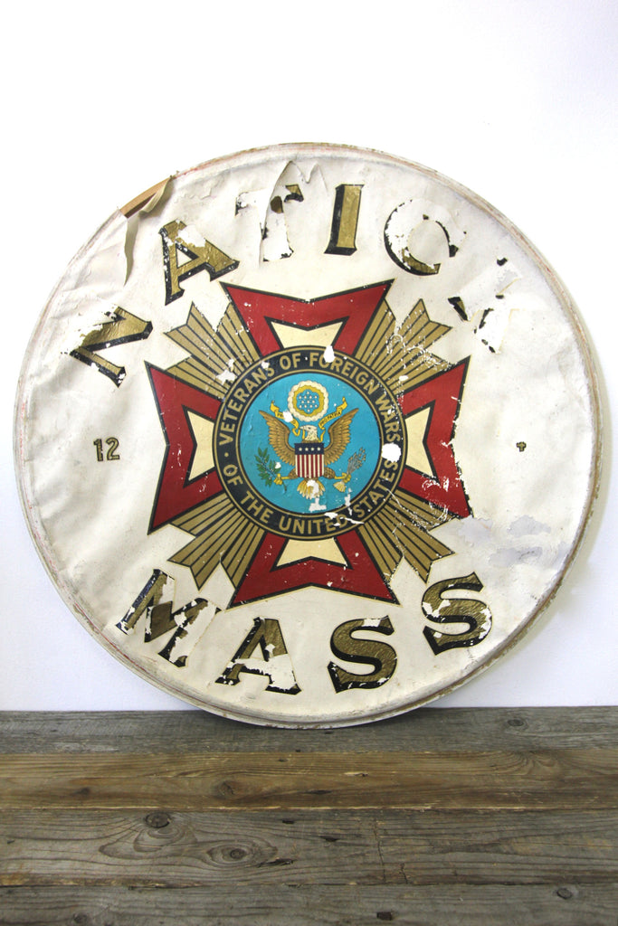 Natick Mass VFW Drum Head