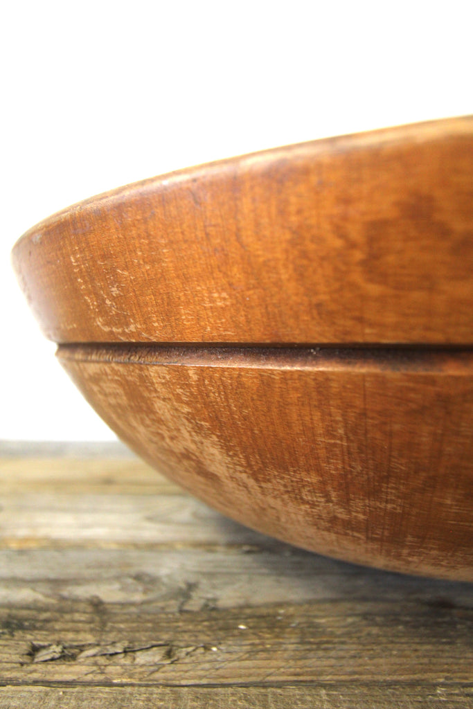 Primitive Wood Bowl Large