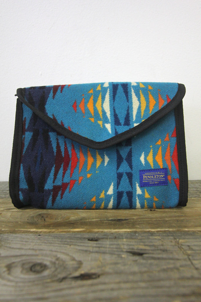 PENDLETON Jacquard Large Cosmetic Bag