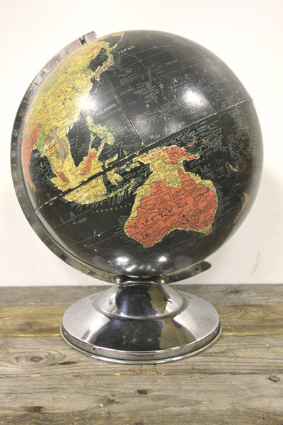 Replogle 12 Inch Precision Black Globe