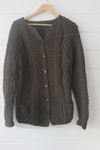 Vintage Fishermen's Cardigan Sweater