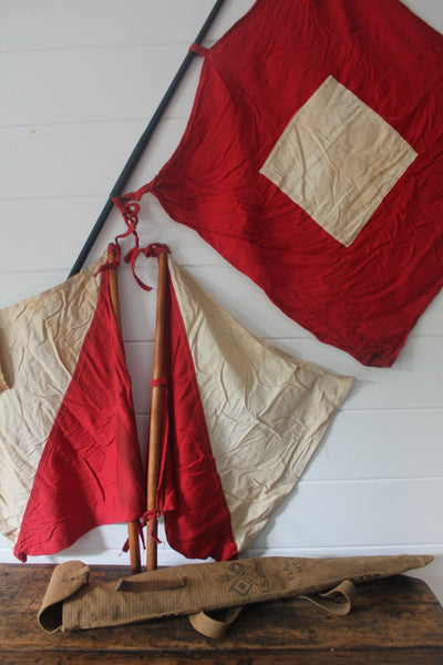 WW2 Signal Flag Kit - Diamonds & Rust