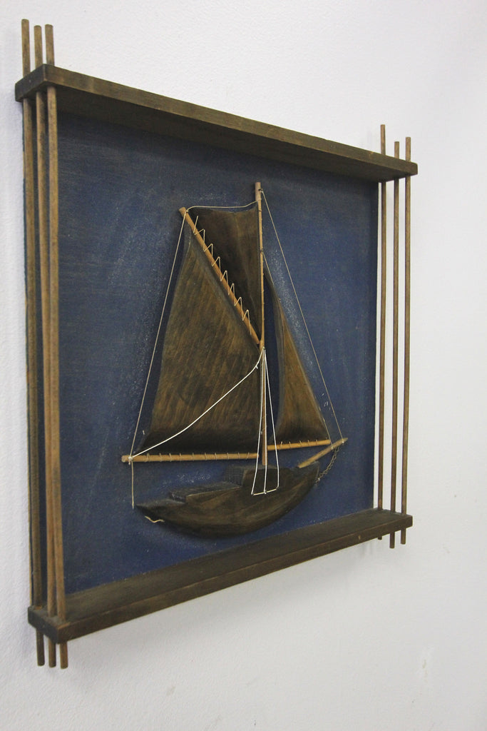 Sailboat Wall Art 1976
