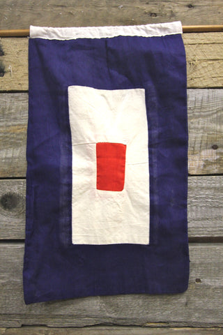 Letter W Cloth Nautical Signal Flag