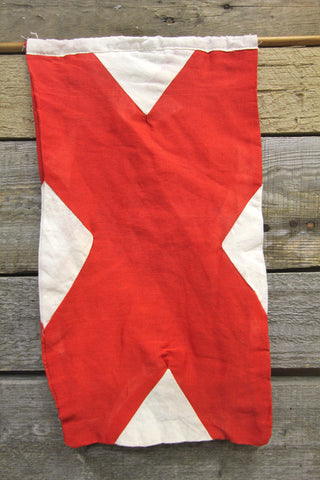 Letter V Cloth Nautical Signal Flag