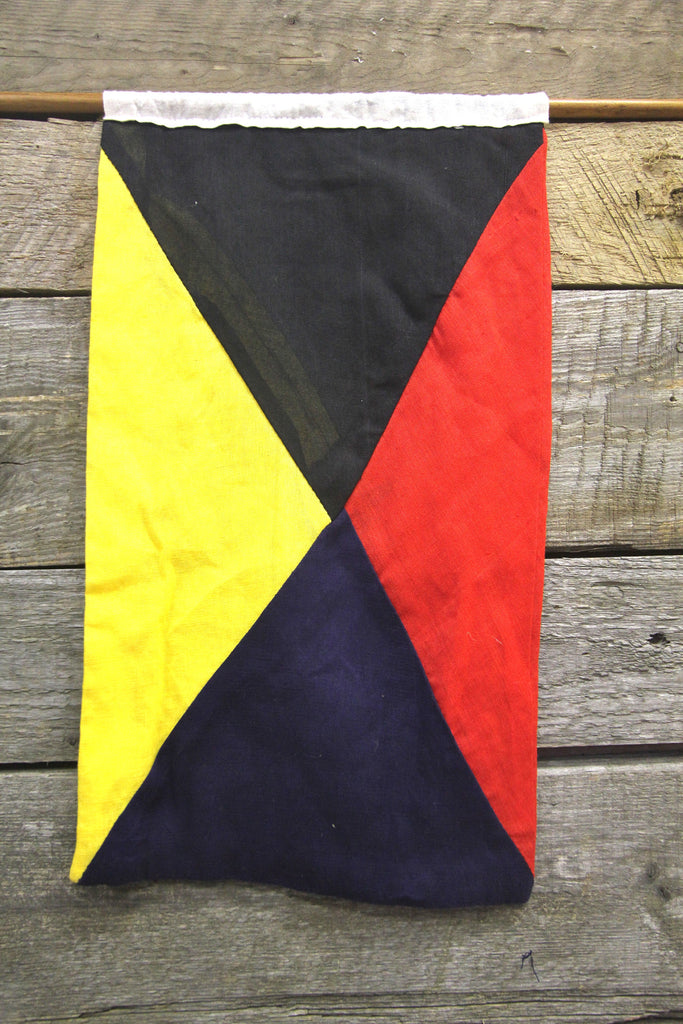 Nautical Signal Flag Letter Z