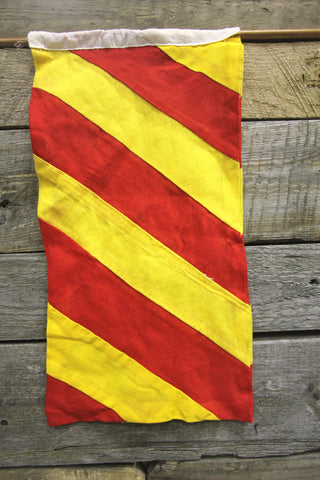 Letter Y Cloth Nautical Signal Flag