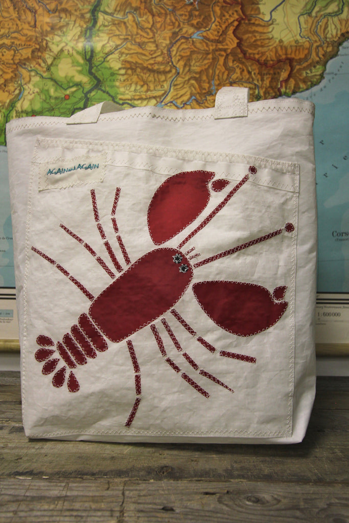 AGAIN AND AGAIN Lobster Tote