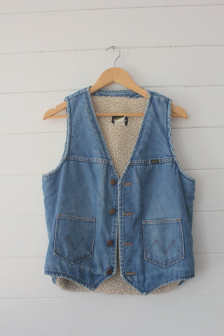 Vintage 70s Maverick Denim Vest