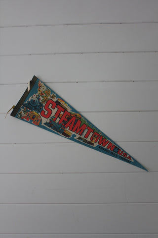 70s Steamtown, USA Pennant