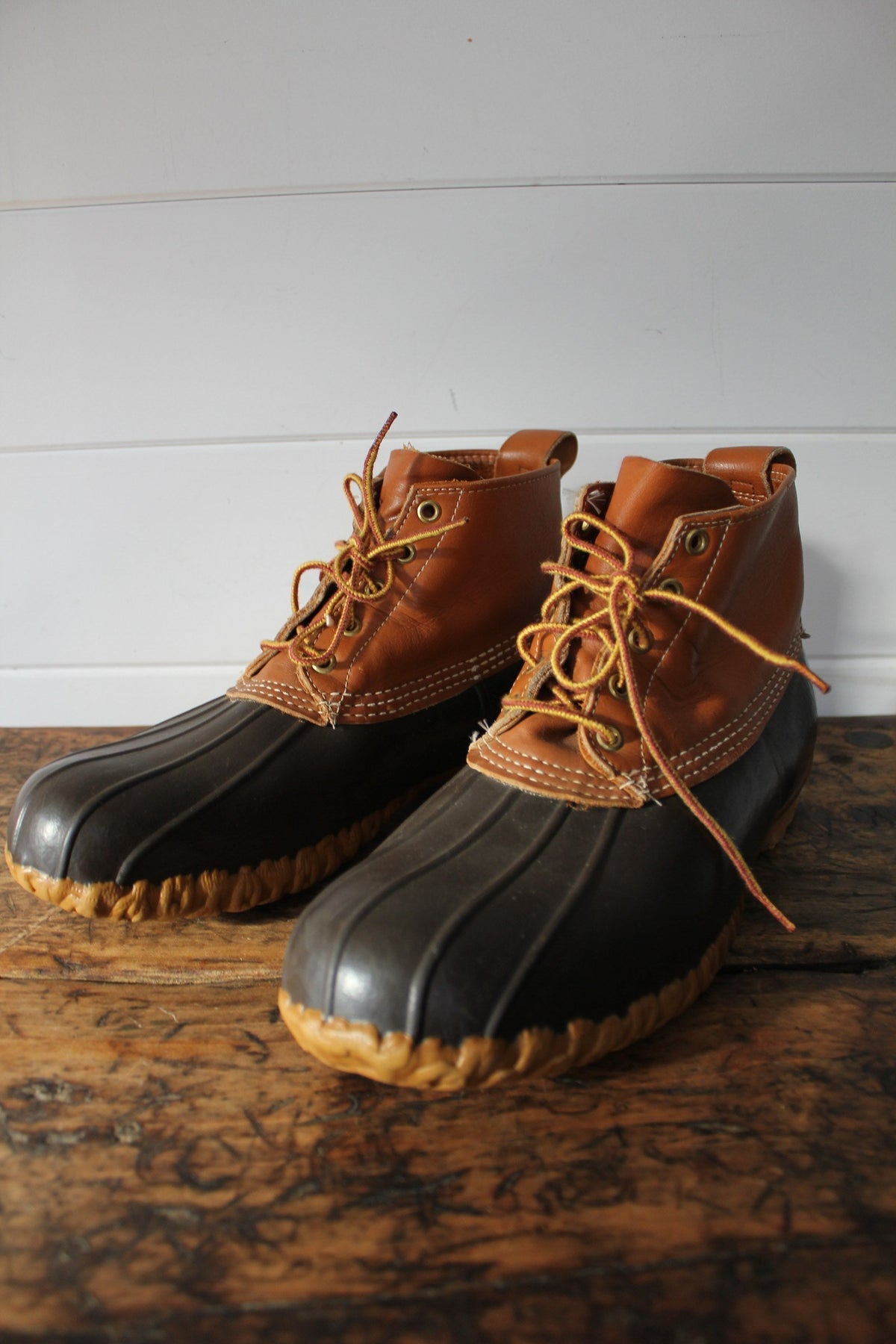 LL Bean Hunting Boot - Diamonds & Rust