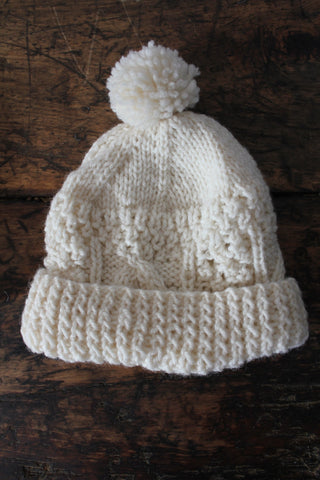 Vintage Wool Knit Hat
