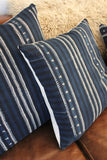 D&R Indigo Mudcloth Pillow 26""