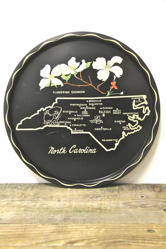 North Carolina State Metal Tray