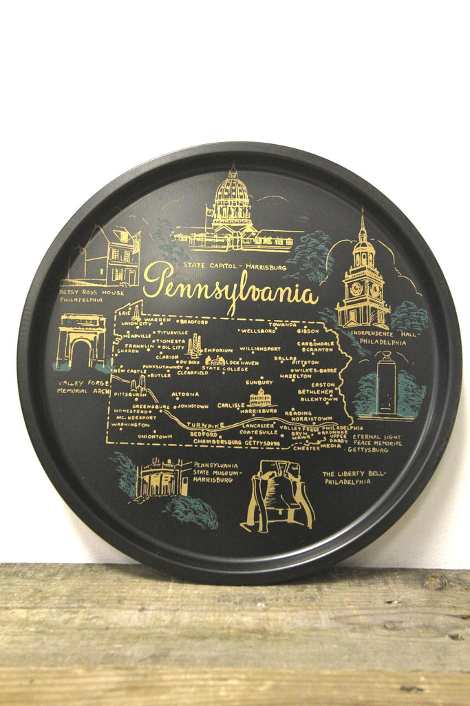 Pennsylvania State Metal Tray