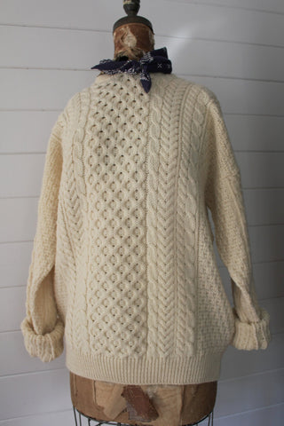 Vintage Fishermen's Sweater