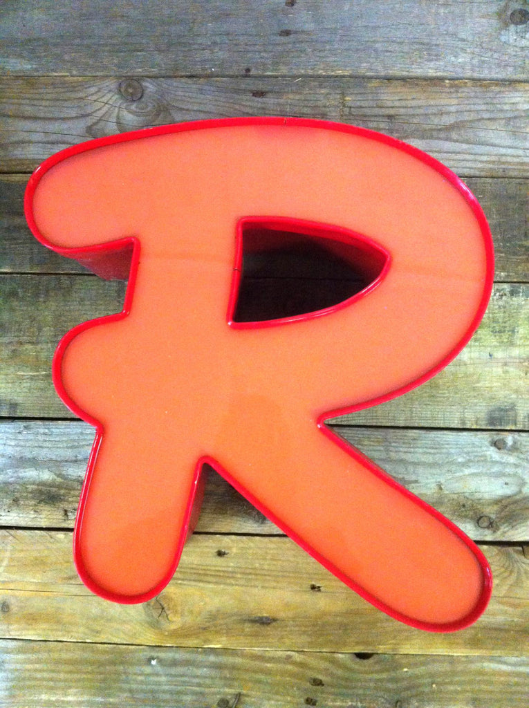Red Letter R 14""