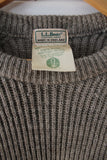 Vintage Grey LL Bean Sweater