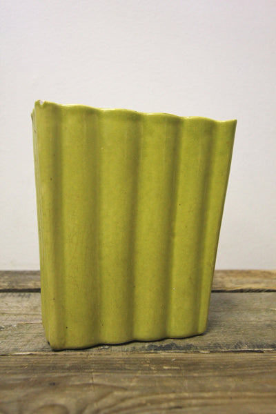 Chartreuse Ceramic Planter