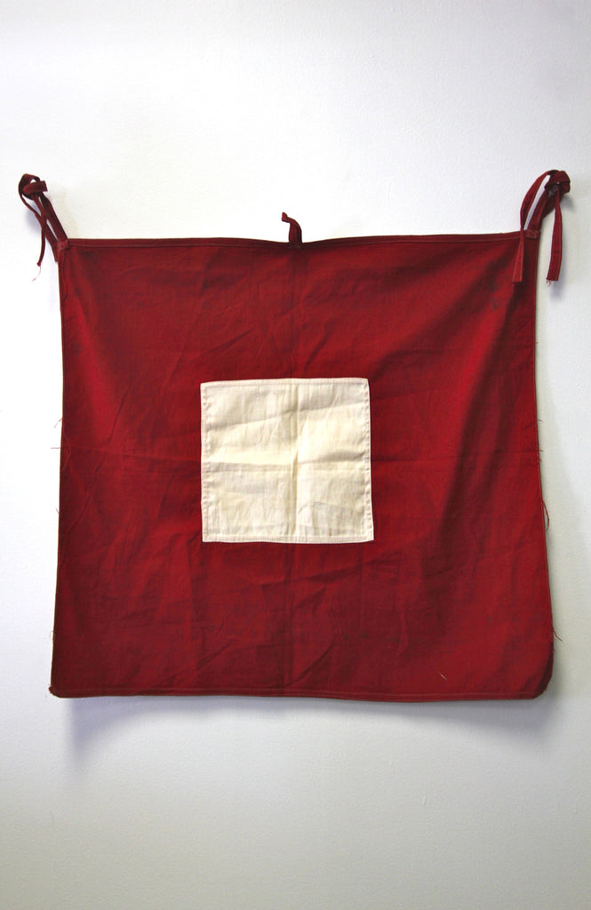 Red Signal Cloth Flag