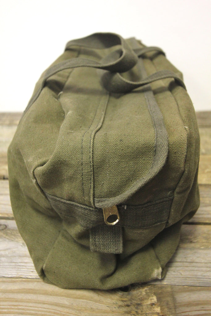 Army Green Canvas Duffle Bag
