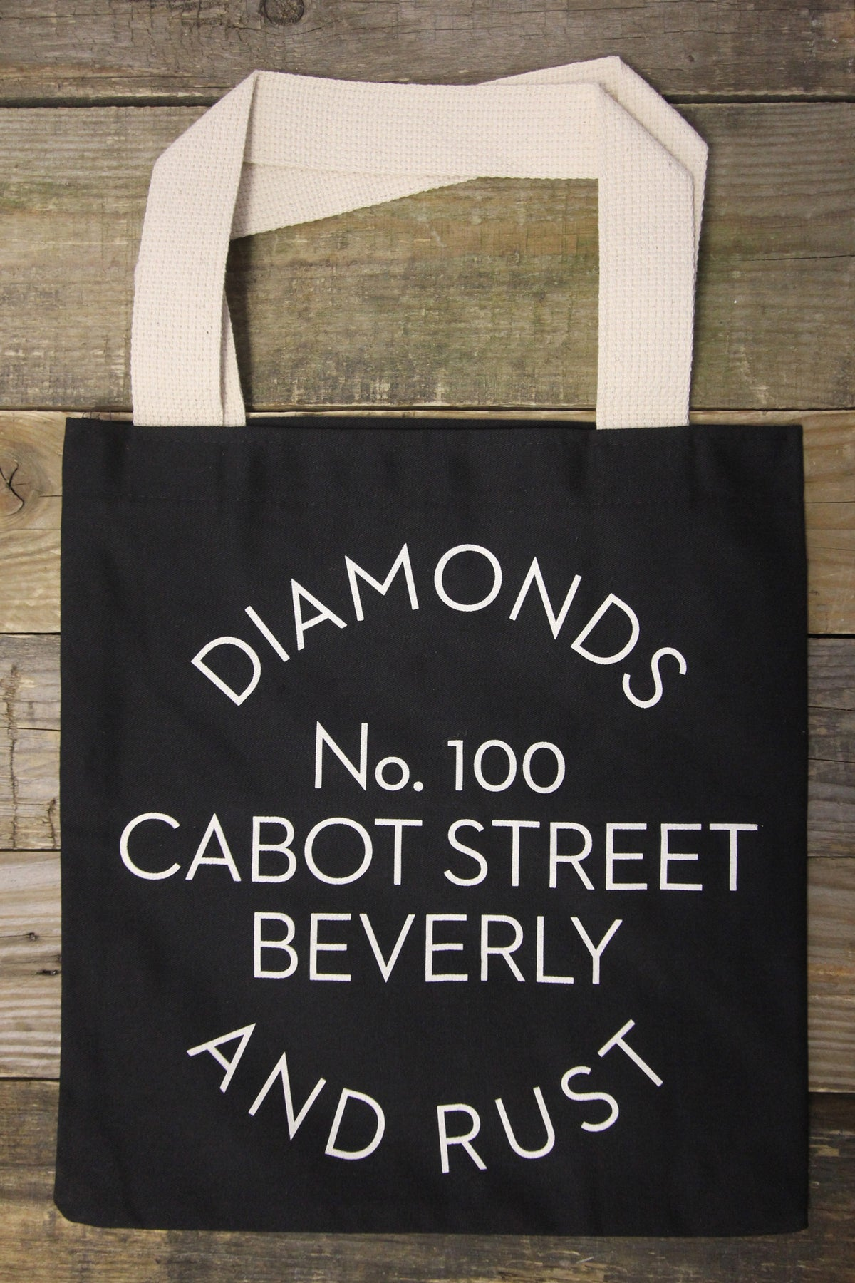 Diamonds & Rust Black Tote