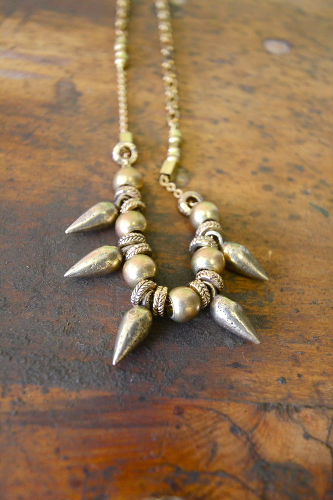 My Arrow Long Spike Necklace