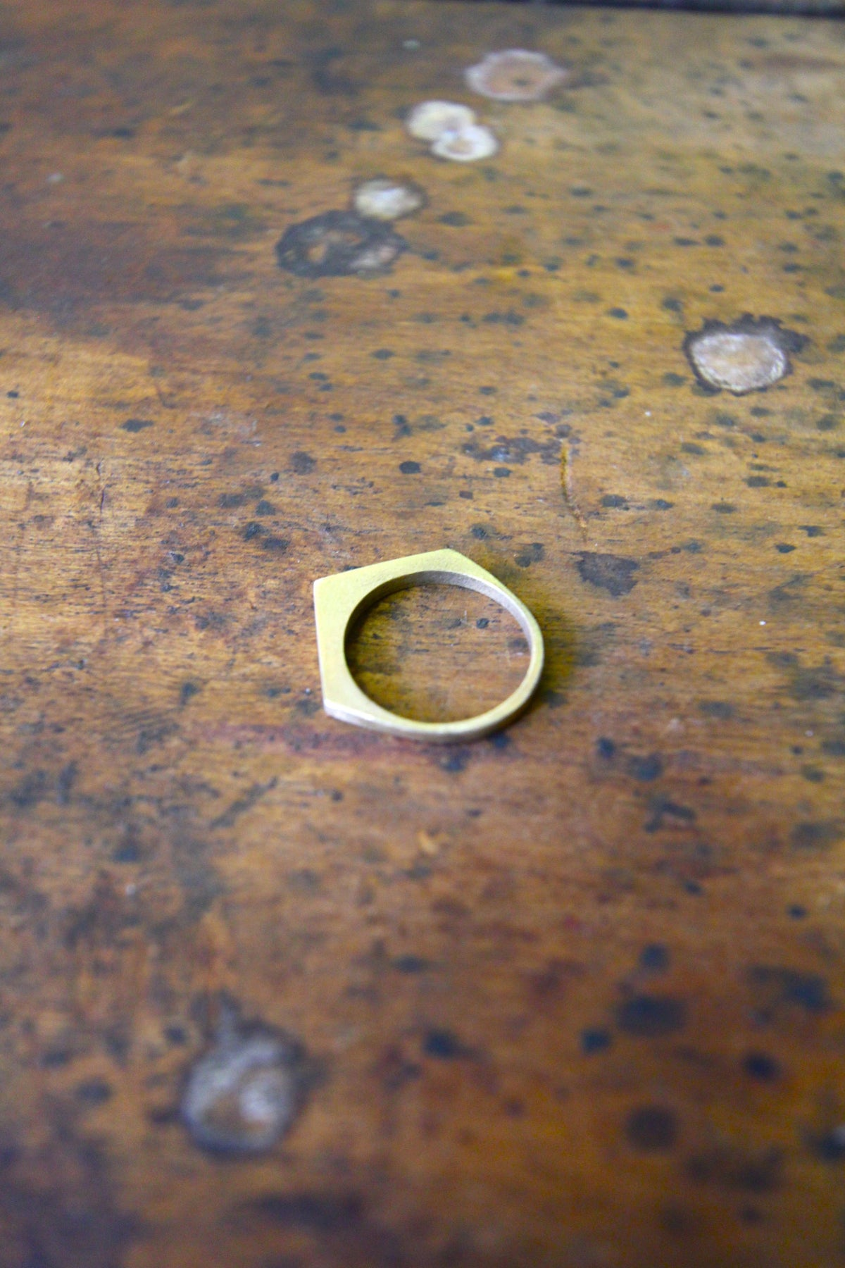 My Arrow Brass Ring