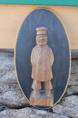 Vintage Fisherman Wall Decor