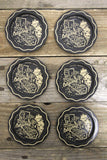 Set of 6 California Metal Coasters