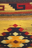 Vintage Mexican Woven Rug