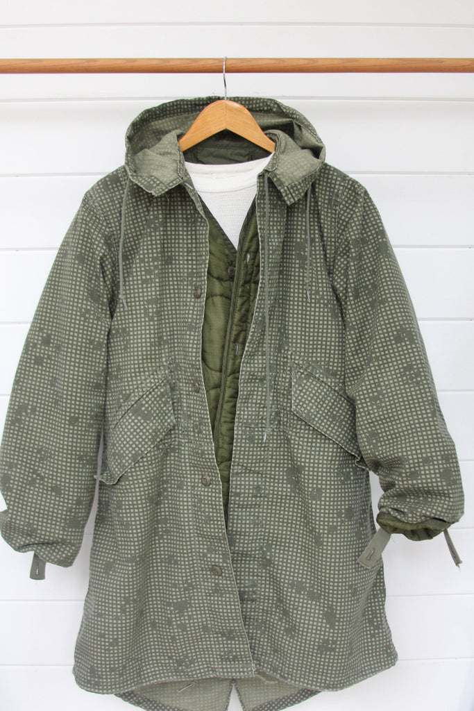 Vintage Night Fishtale Parka - Diamonds & Rust