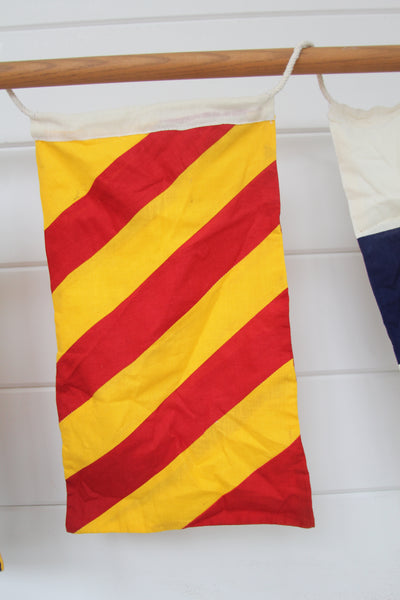 Nautical Signal Flag: Letter Y
