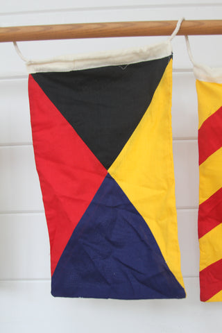 Nautical Signal Flag: Letter Z